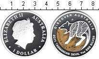 Изображение Монеты Австралия 1 доллар 2011 Серебро Proof