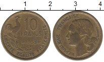 Изображение Мелочь Франция 10 франков 1951 Медь XF