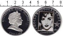 Изображение Монеты Острова Кука 5 долларов 2011 Серебро Proof Легенды Голливуда. Е