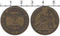 Изображение Мелочь Франция 2 франка 1921 Медь XF