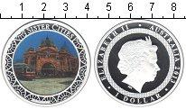 Изображение Монеты Австралия 1 доллар 2013 Серебро Proof