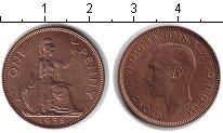 Изображение Монеты Великобритания 1 пенни 1938 Медь XF