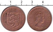 Изображение Монеты Остров Джерси 1/12 шиллинга 1964 Медь XF Елизавета II