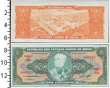 Изображение Банкноты Южная Америка Бразилия 2 крузейро 0  UNC-