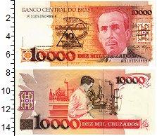 Изображение Банкноты Бразилия 10000 крузейро 0  UNC