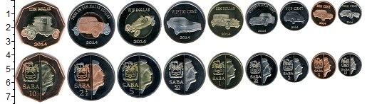 Изображение Наборы монет Саба Саба 2014 2014  UNC-