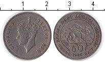 Изображение Монеты Восточная Африка 50 центов 1948 Медно-никель XF