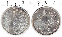 Изображение Монеты Франция 1 1/2 евро 2006 Серебро UNC-
