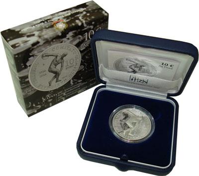 Изображение Подарочные монеты Италия 10 евро 2014 Серебро Proof
