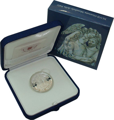 Изображение Подарочные монеты Европа Ватикан Понтифик Франциск II 2014 Серебро Proof