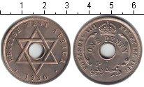Изображение Монеты Западная Африка 1 пенни 1936 Медно-никель XF