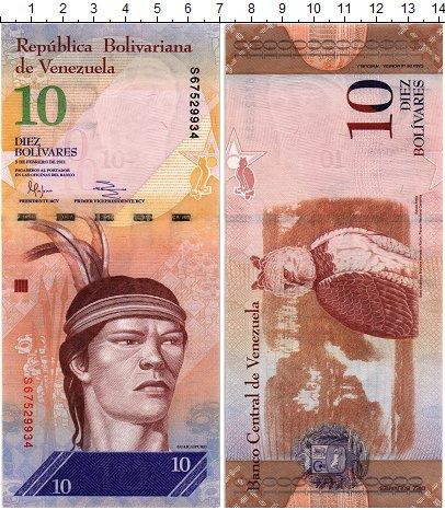 Изображение Банкноты Венесуэла 10 боливар 2011  UNC