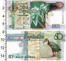 Изображение Банкноты Сейшелы 50 рупий 0  UNC Ангрекум и королевск