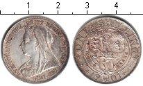 Изображение Монеты Великобритания 1 шиллинг 1901 Серебро XF