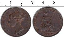 Изображение Монеты Европа Великобритания 1/2 пенни 1857 Медь XF