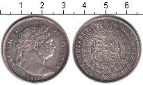 Изображение Монеты Великобритания 1/2 кроны 1817 Серебро VF