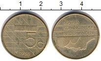 Изображение Дешевые монеты Нидерланды 5 центов 1988