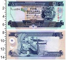 Изображение Банкноты Соломоновы острова 5 долларов 0  UNC-