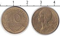 Изображение Дешевые монеты Европа Франция 10 сантим 1977