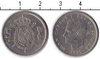 Изображение Дешевые монеты Европа Испания 5 песет 1977