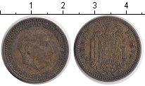 Изображение Дешевые монеты Европа Испания 1 песета 1953