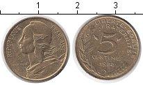 Изображение Дешевые монеты Европа Франция 5 сантим 1988
