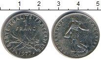 Изображение Дешевые монеты Франция 1 франк 1977