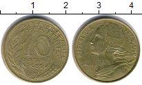 Изображение Дешевые монеты Европа Франция 10 сантим 1985
