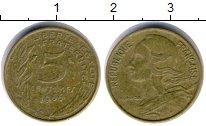 Изображение Дешевые монеты Европа Франция 5 сантим 1966
