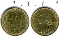 Изображение Дешевые монеты Европа Франция 10 сантим 1979