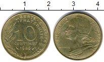 Изображение Дешевые монеты Франция 10 сантим 1986