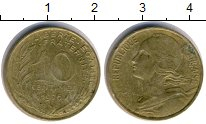 Изображение Дешевые монеты Европа Франция 10 сантим 1976