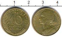 Изображение Дешевые монеты Франция 10 сантим 1985