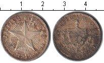 Изображение Монеты Куба 20 сентаво 1949 Серебро VF
