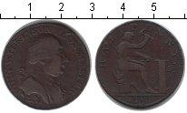 Изображение Монеты Европа Великобритания 1/2 пенни 1791 Медь
