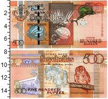 Изображение Банкноты Сейшелы 500 рупий 2011  UNC