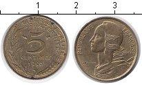 Изображение Дешевые монеты Франция 5 сантим 1996