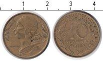 Изображение Дешевые монеты Франция 10 сантим 1970
