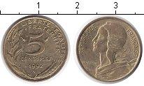 Изображение Дешевые монеты Франция 5 сантим 1992 Медь XF