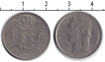 Изображение Дешевые монеты Бельгия 1 франк 1974