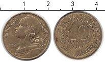 Изображение Дешевые монеты Франция 10 сантим 1981