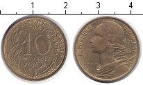 Изображение Дешевые монеты Европа Франция 10 сантим 1969