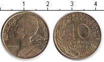 Изображение Дешевые монеты Европа Франция 10 сантим 1997