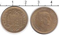 Изображение Дешевые монеты Европа Испания 1 песета 1966