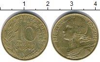 Изображение Дешевые монеты Европа Франция 10 сантим 1991 Медь XF