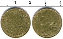 Изображение Дешевые монеты Франция 10 сантим 1984 Медь XF