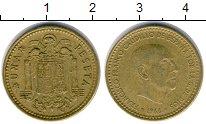 Изображение Дешевые монеты Не определено 1 песета 1966