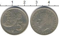 Изображение Дешевые монеты Не определено 5 песет 1981
