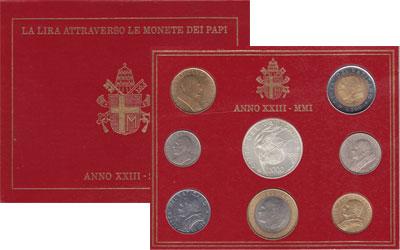 Изображение Подарочные монеты Европа Ватикан ANNO XXIII 2001 2001
