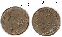 Изображение Дешевые монеты Не определено 10 сантим 1979 Медь XF